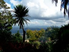 View from Zomba Mountain