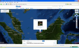 Flickr Map Photo