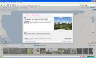 Edit Photo Attributes On Flickr Map
