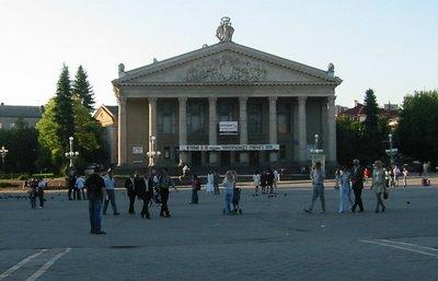 Ternopil Theatre, West Ukraine