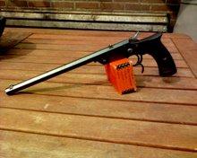 6 mm schijf pistool uit de periode rond 1900