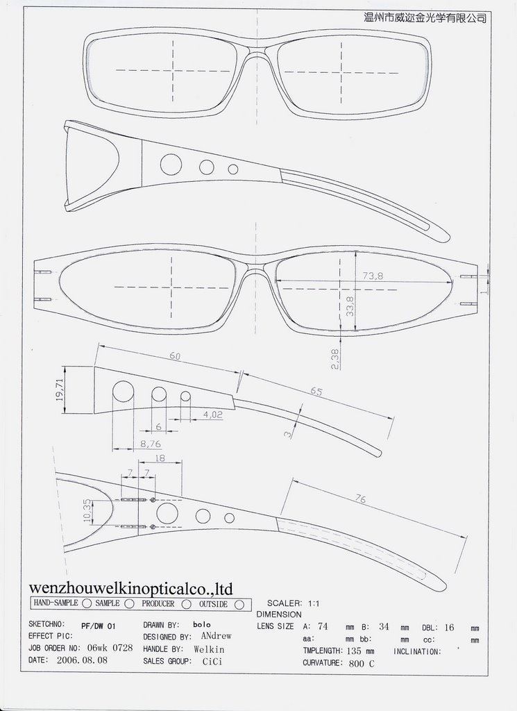 Wenzhou welkin optical co ltd review the orders blueprint we can see andrew how to design and give the instruction to our factory to produce his creations it will be happy if mr or miss stunna shades hit and miss malvernweather