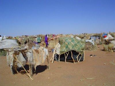 Campo de Refugiados no Sul de Darfur