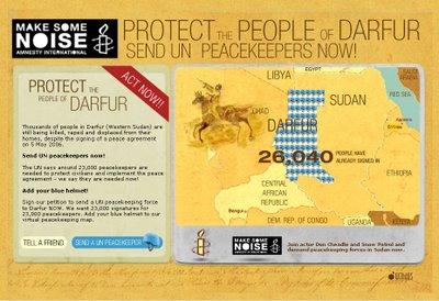 Send UN peacekeepers NOW!