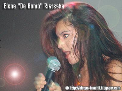 Elena 'Da Bomb' Risteska - Sexy Pop Music Singer