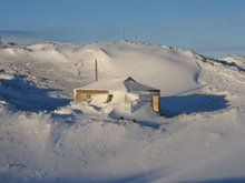 Shackleton's Hut - Cape Royd's Antarctica.