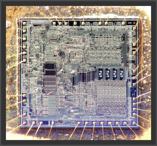 TI TMS8080A CPU