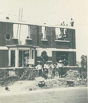 Ciney ma ville construction du bureau des contributions en 1936 - Bureau des contributions ...