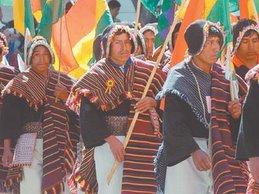 Inauguration de l'A.C.: pueblo tarabuco