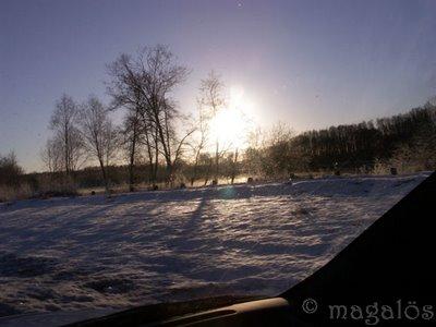 soluppgång i november