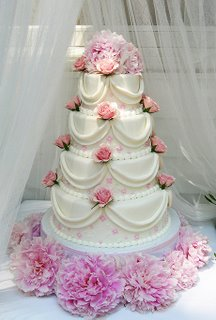 4 Tier Wedding Cake wc