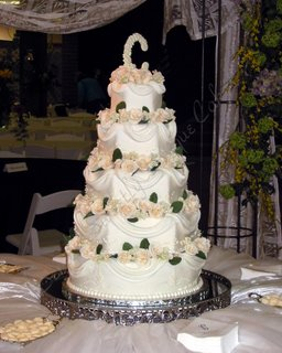5 Tier Wedding Cake wc