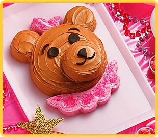 Teddy Bear Birthday Cake kidz
