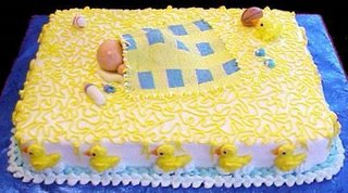 Sleeping Baby: Baby Shower Cake babycake