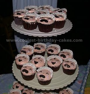 Baby Shower Cupcake babycake