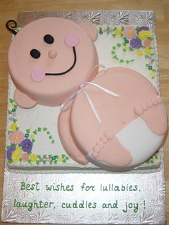Baby Shower Cake babycake