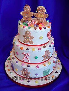 Gingerbread Man Cake xmas