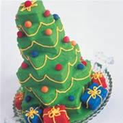Christmas Tree Cake xmas