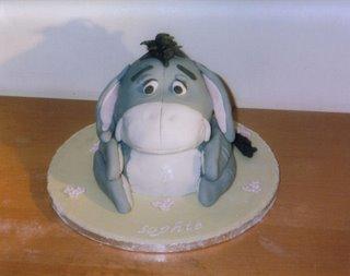 Kids Eeyore Birthday Cake kidz