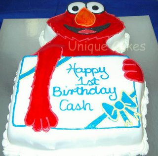 Kids Elmo Birthday Cake kidz