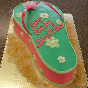 Flip Flop Cake misc