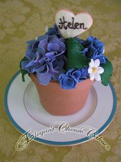 Flower Pot Cake misc