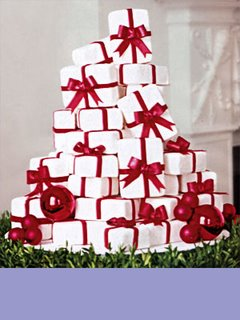 Stack of Presents Christmas Cake xmas