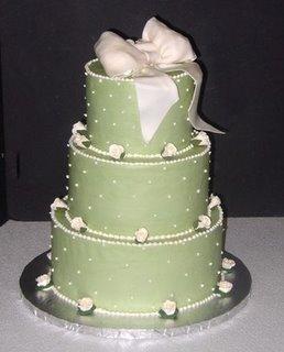 Green Wedding Cake wc