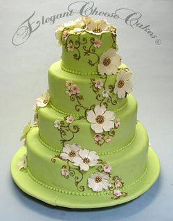 Green Wedding Cake wc
