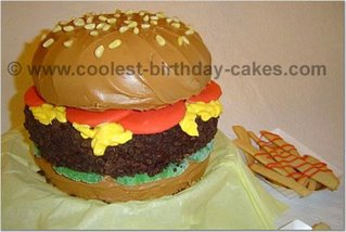 Hamburger Cake misc