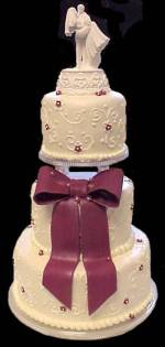 Ivory Wedding Cake wc