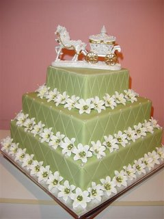 Lily House Wedding Cake wc