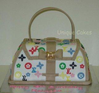 LV Handbag Cake misc
