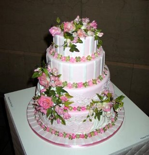 Elegant Wedding Cake wc