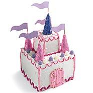 Kids Princess Castle Cake kidz