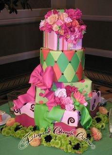 Sassy Ritz Wedding Cake