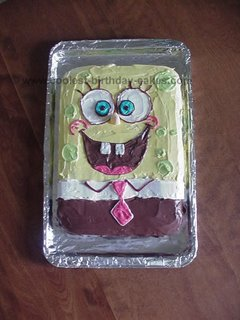 Kids SpongeBob Birthday Cake kidz
