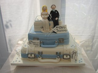 Unique Wedding Cake wc