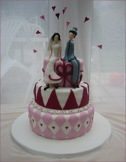 Stylish Wedding Cake wc