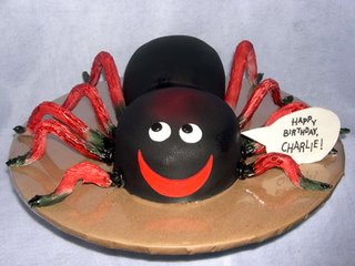Kids Tarantula Birthday Cake kidz