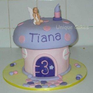 Kids Toadstool Cake kidz