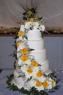 Money saving wedding cake