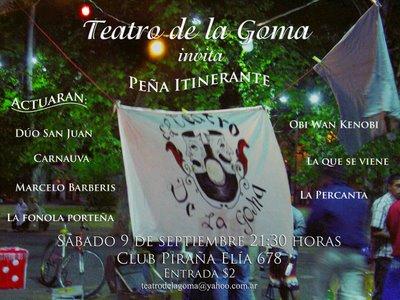 Peña del Teatro de la Goma