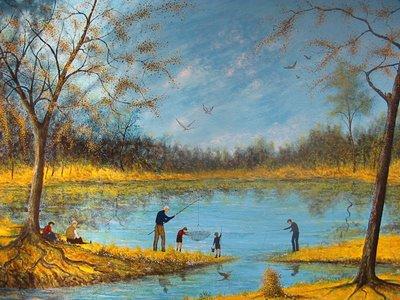 lago de Parque Patricios