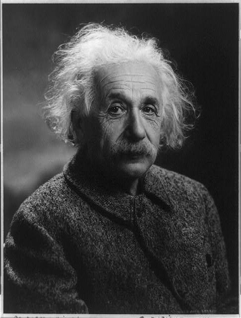 TITLE: Albert Einstein, 1879-1955, Library of Congress Prints and Photographs Division