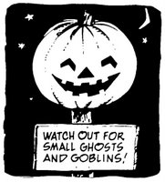 public domain and Halloween or Ghost and Goblins and Department of Defense or Pumpkin.