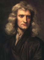 Isaac Newton, painted by Godfrey Kneller 1689