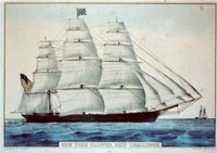 New York clipper ship 'Challenge', Reproduction Number: LC-USZC2-2882, Library of Congress Prints and Photographs Division.