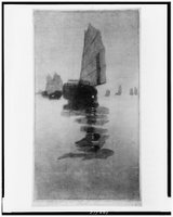 Junks in inland sea, REPRODUCTION NUMBER: LC-USZ62-100518, Library of Congress, Prints & Photographs Division.