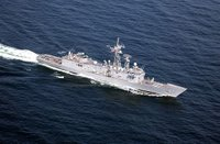 USS Rueben James, U.S. Navy photo by Photographer's Mate 2nd Class Aaron Ansarov. (RELEASED)